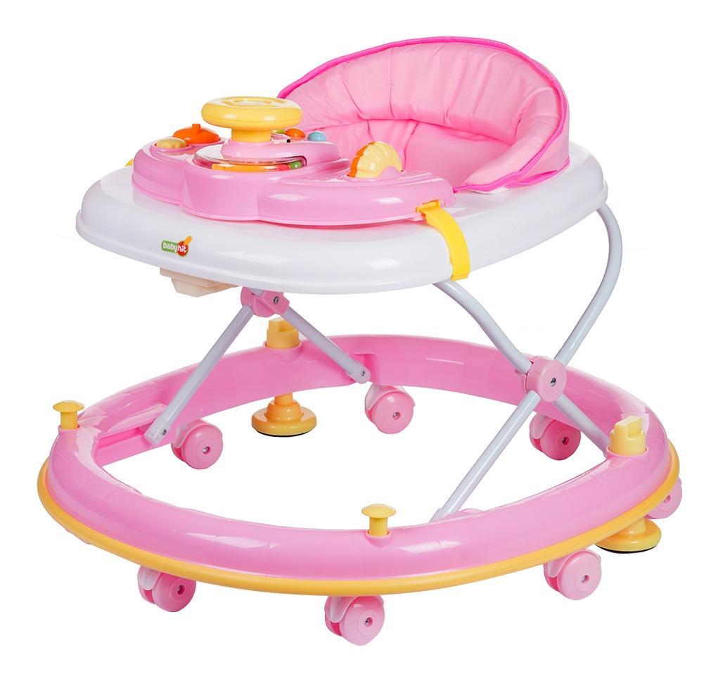 Ходунки детские babyhit clever-pink
