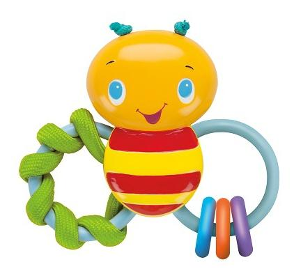 Купить Развивающая игрушка-погремушка Bright Starts Пчелка, Погремушки