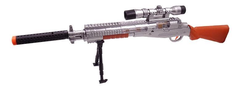 Купить Снайперская винтовка, Снайперская Винтовка с прицелом и подставкой ars-273(dq-2378), ABtoys, Стрелковое игрушечное оружие