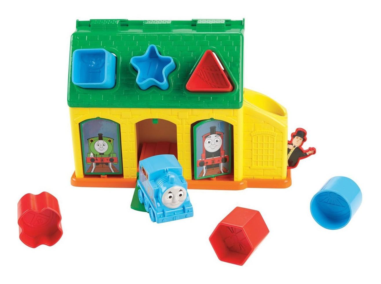 Купить Сортер Fisher-Price My First Thomas & Friends Tidmouth Shape Sorter CDN12, Игровые наборы