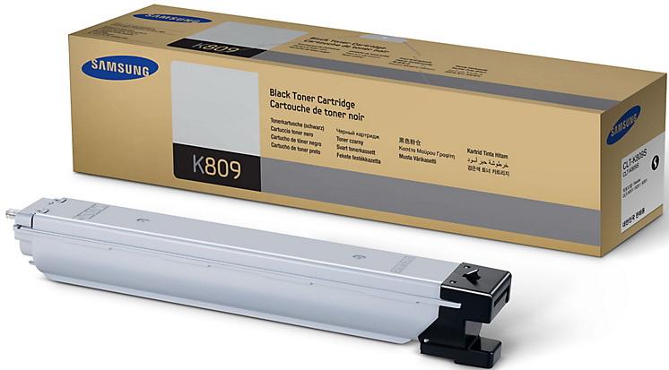 Картридж для лазерного принтера Samsung CLT-K809S, черный, оригинал