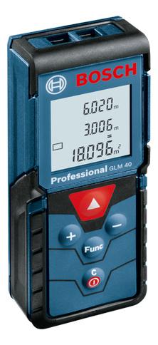 Лазерный дальномер Bosch GLM 40 601072900