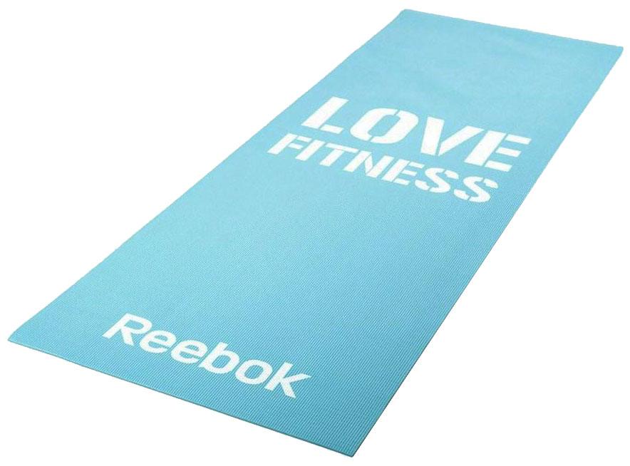 Коврик для фитнеса Reebok RAMT 11024BLL голубой