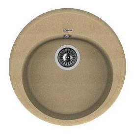 Мойка для кухни гранитная Florentina Лотос 510 бежевый