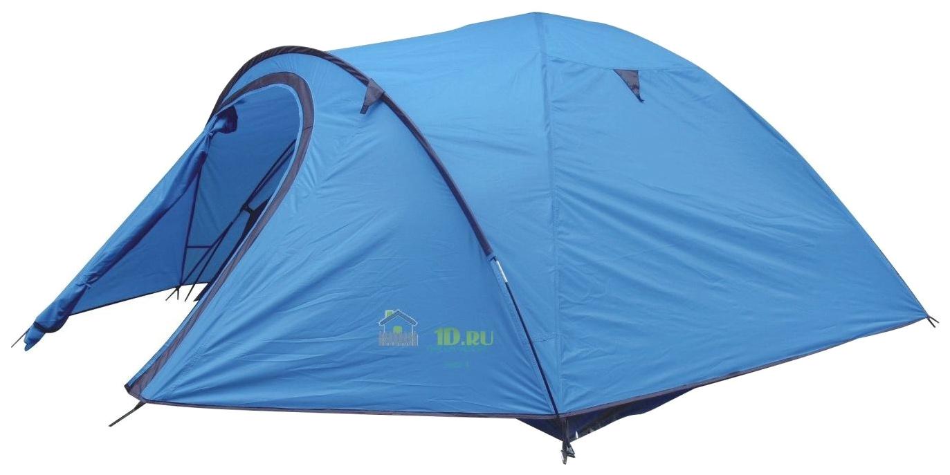 Палатка Green Glade Nida (Nevada) четырехместная голубая