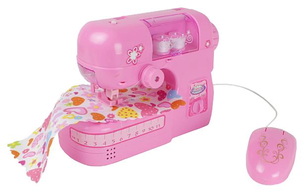 Купить Швейная машинка игрушечная С-Трейд Свет Звук на батарейках, Детские швейные машинки