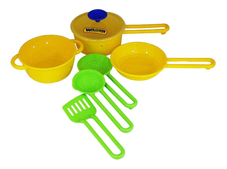 Набор посуды игрушечный Полесье Набор детской посуды Поваренок №1 П-40688