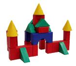 Купить №3 Малый, Конструктор пластиковый Форма Набор строительный №3 малый,