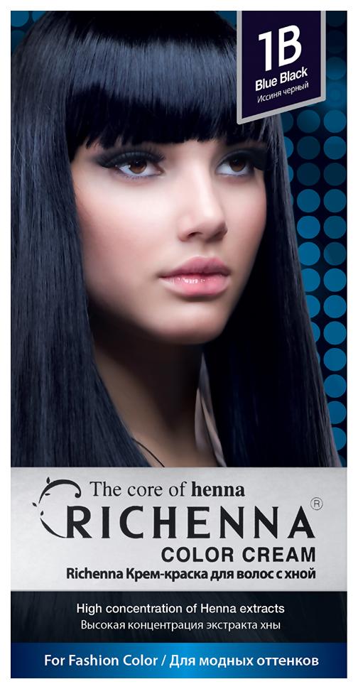 Краска для волос RICHENNA Color Cream 1B Blue