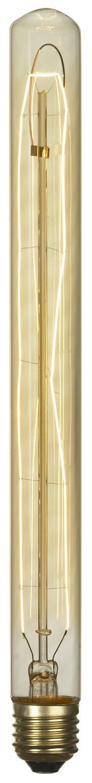 Лампа накаливания E27 60W 2700K цилиндр прозрачный