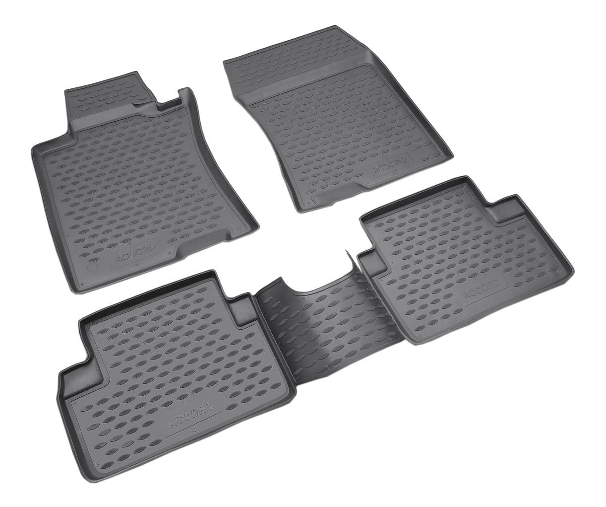 Комплект ковриков в салон автомобиля Autofamily для Honda (NLC.18.01.210)