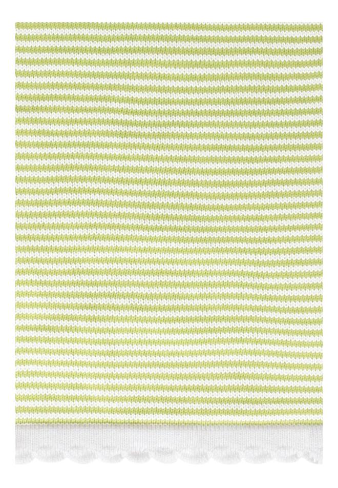 Плед Luxberry Imperio 207 75 х 100 см зелено-белый
