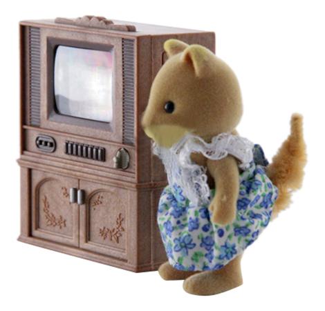 Игровой набор Sylvanian Families Цветной телевизор фото