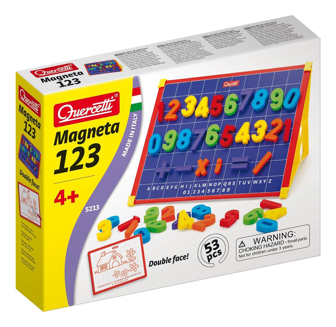 Развивающая игрушка Quercetti Математическая магнитная с подставкой