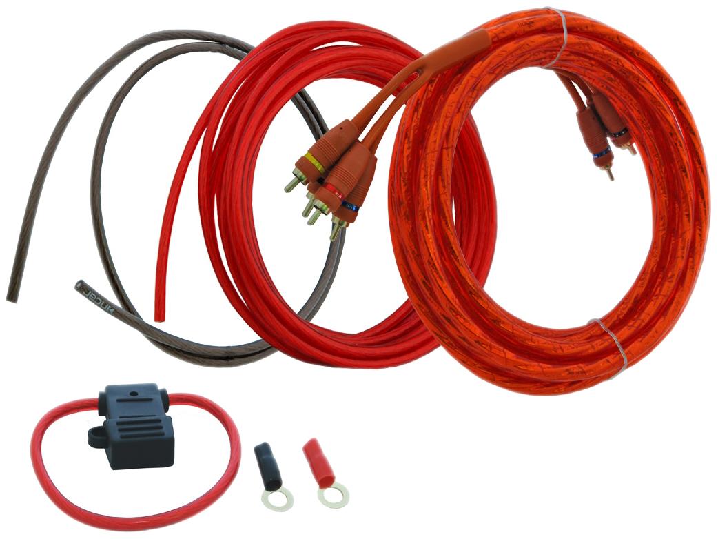 Комплект проводов для подключения усилителя Incar (Intro)