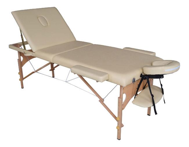 Массажный стол складной DFC Nirvana Relax Pro beige фото
