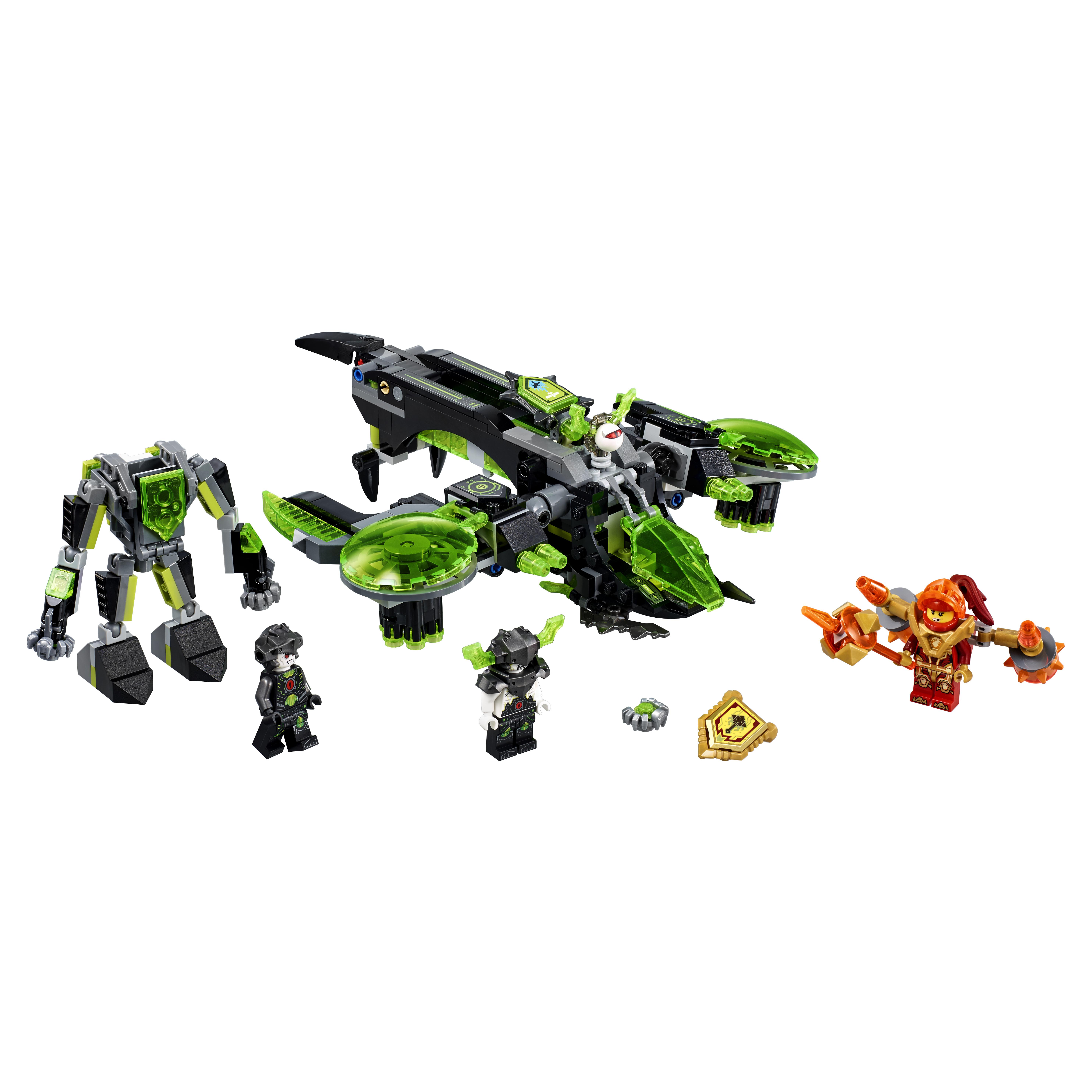 Конструктор LEGO Nexo Knights Неистовый бомбардировщик (72003) конструктор lego nexo knights неистовый бомбардировщик (72003)
