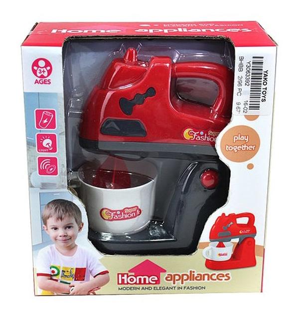 Купить Блендер игрушечный Yako Toys Play together Y3063392, Детская кухня