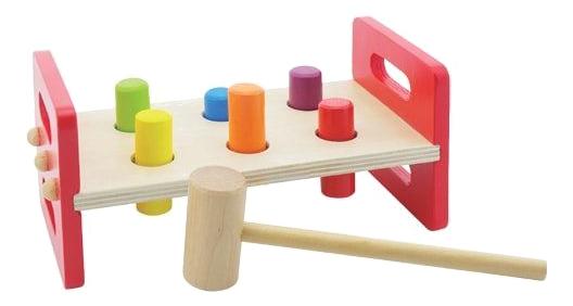 Купить Деревянная игрушка для малышей Mapacha Молоточек, Наша игрушка, Развивающие игрушки