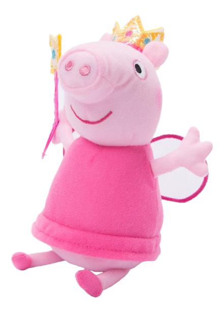 Купить Пеппа Фея с палочкой, Мягкая игрушка Intertoy Пеппа Фея с Палочкой 20 см Peppa Pig 31152, Мягкие игрушки персонажи
