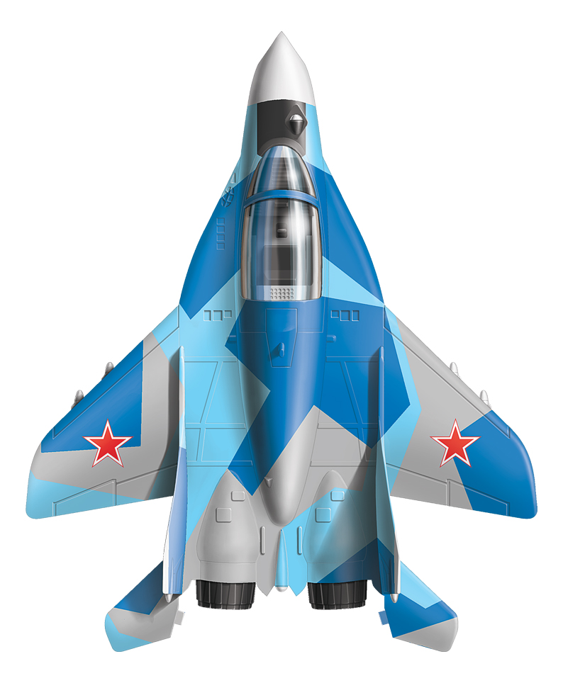 Модели для сборки Zvezda Российский самолёт истребитель