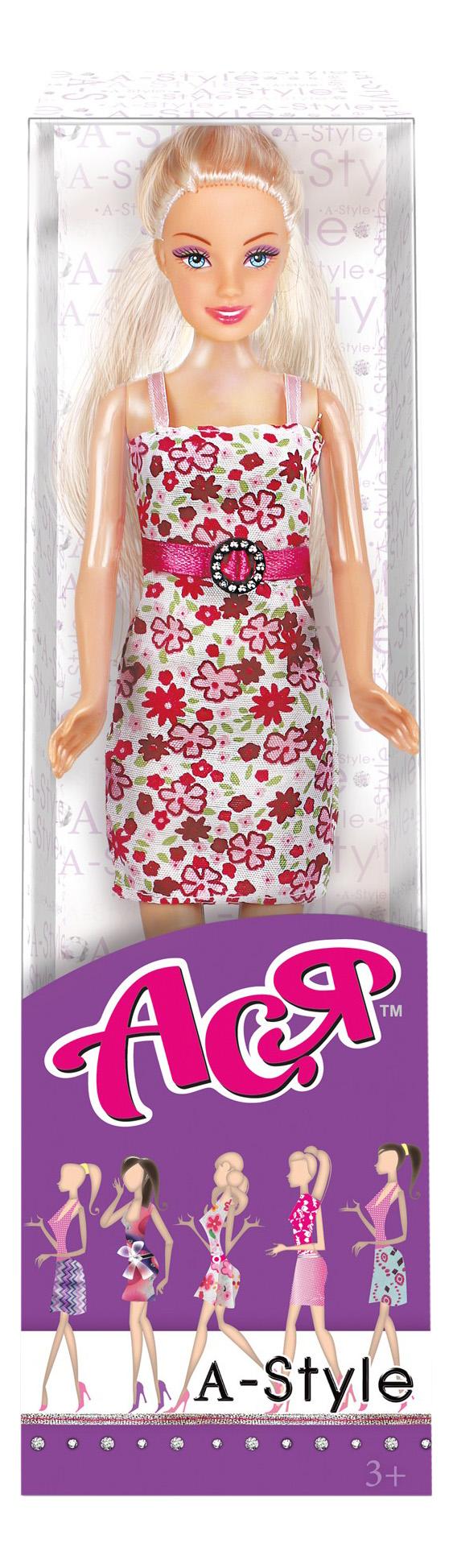 Кукла ToysLab Entertainment Ася блондинка в цветочном платье