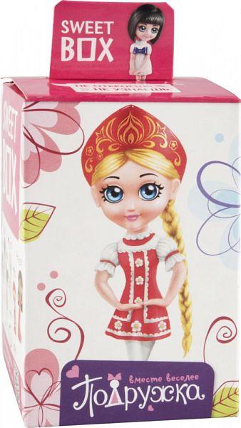 Мармелад жевательный Sweet box подружка с игрушкой 10 г