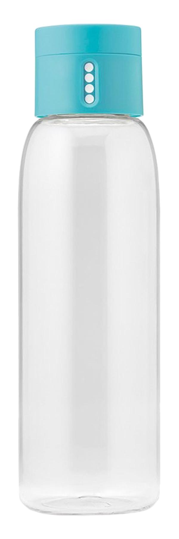 Бутылка для воды Dot (0.6 л), 23.5х7 см, голубая
