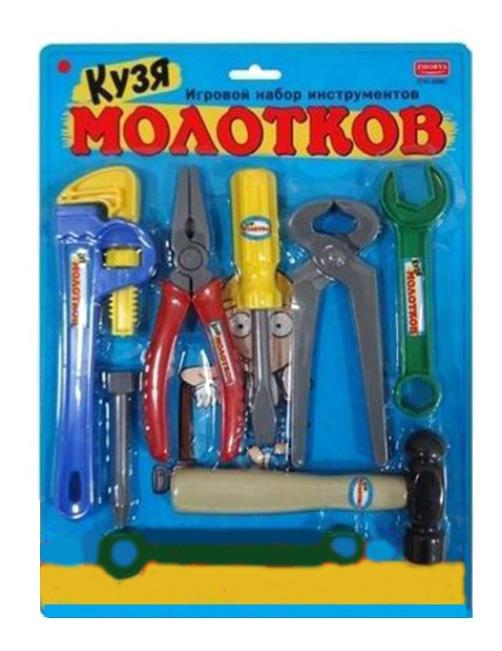 Набор строительных инструментов Кузя Молотков Zhorya Г74538