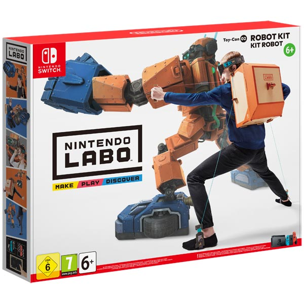 Игра Labo Toy Con 02 Robot