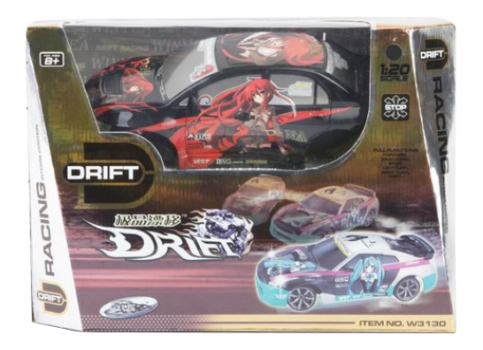 Машина р/у Drift черная 1:20 Shenzhen Toys М50097