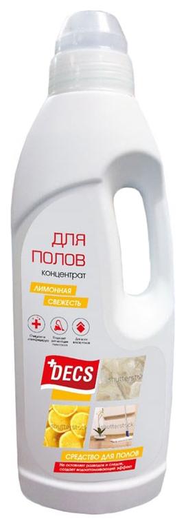 Чистящее средство для мытья полов Decs лимонная