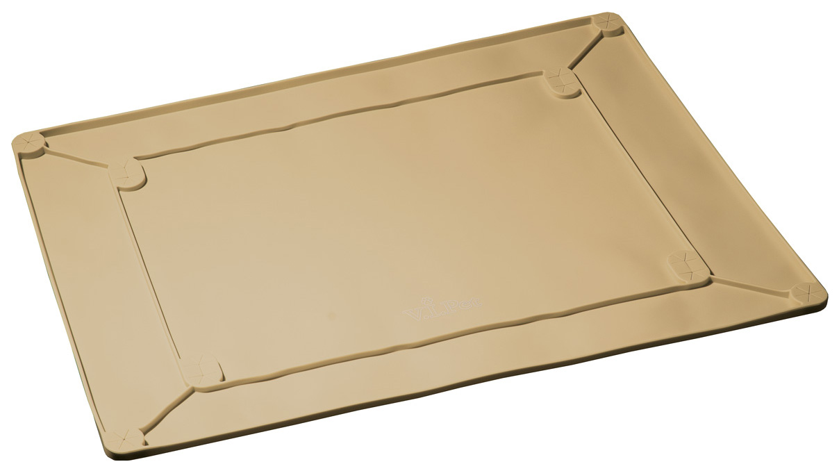 Туалет-коврик для собак Hello Pet, размер 60х45х4см,, бежевый