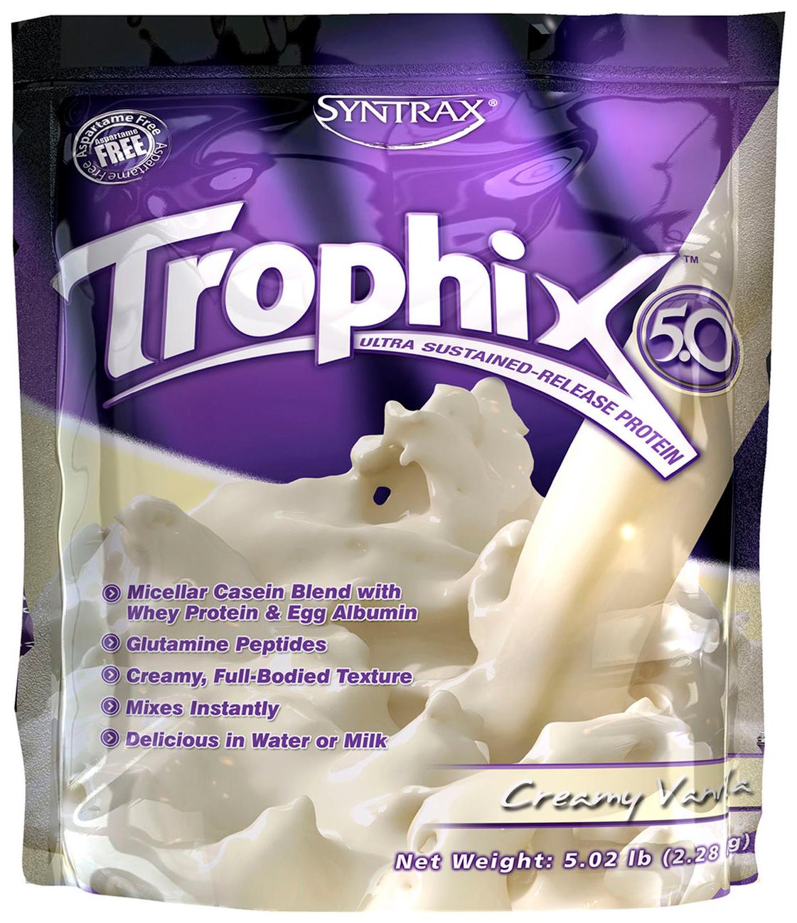 Протеин Syntrax Trophix 2270 г ваниль