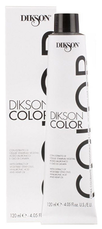 Краска для волос Dikson Color 7R-INT Темно красный Тициан 120 мл