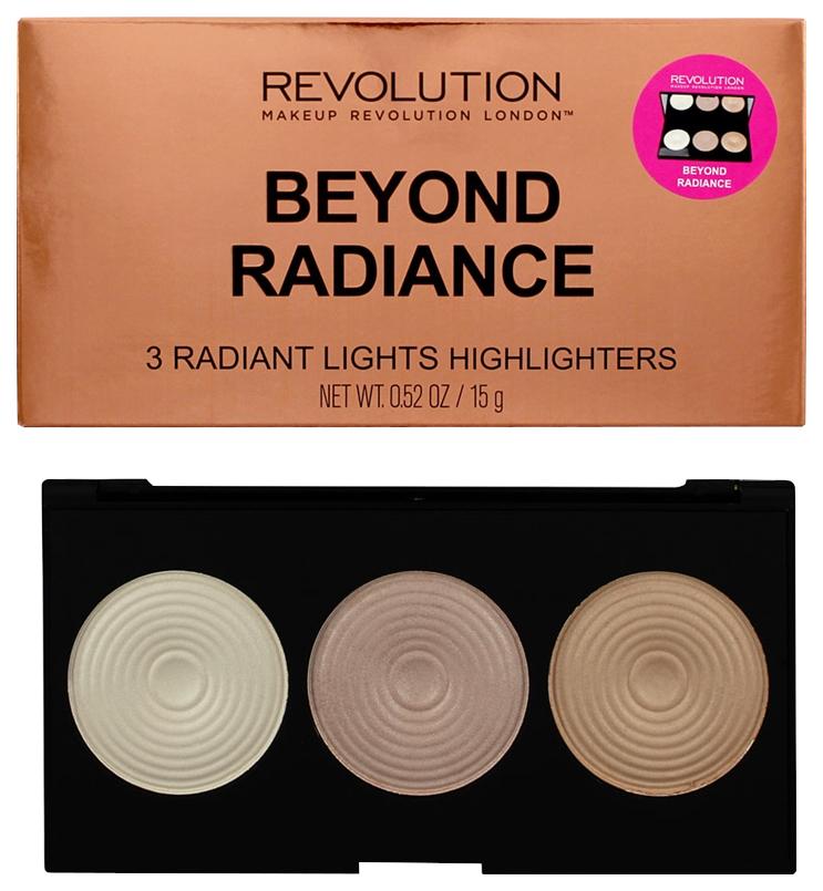 Хайлайтер Makeup Revolution Highlighter Palette Beyond Radiance 15 г фото