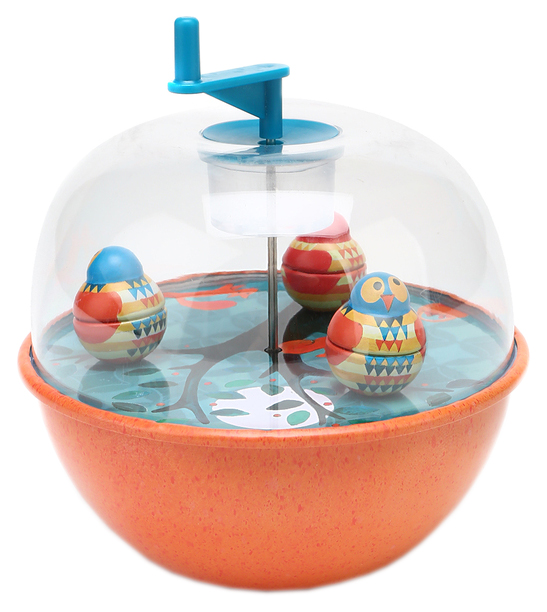 Купить Развивающая игрушка Egmont Toys Музыкальная юла Совы 550335, Развивающие игрушки