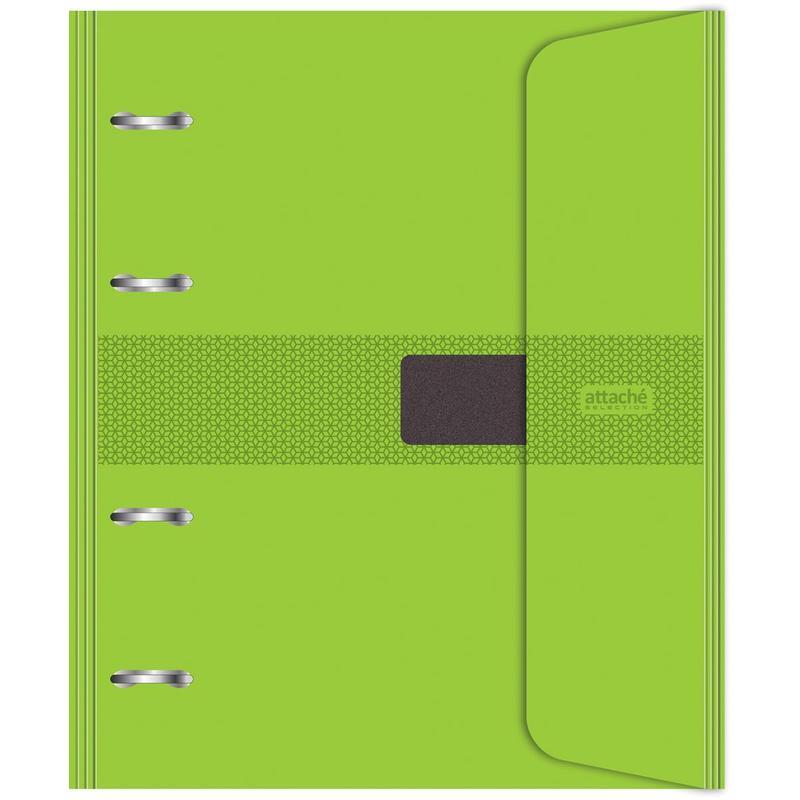Бизнес-тетрадь со сменным блоком, на кольцах, А5, 120 листов, клетка