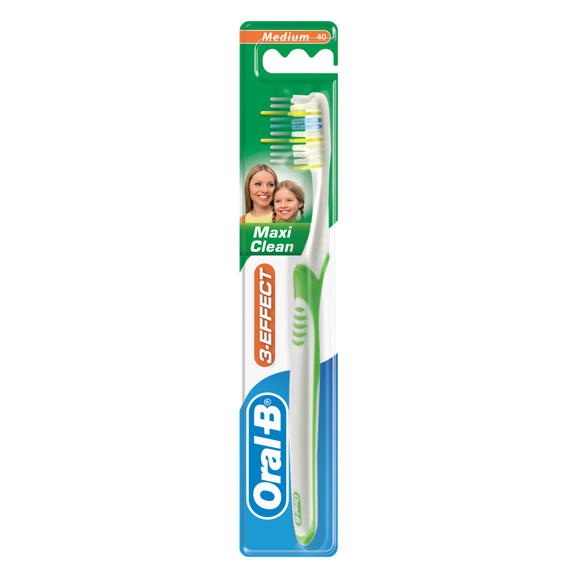 Зубная щетка Oral-B 3_Effect Maxi Clean Vision 40 средняя 1 шт