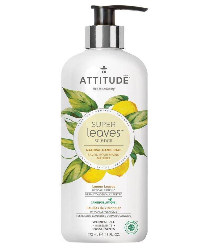 Жидкое мыло ATTITUDE Листья лимона 473 мл