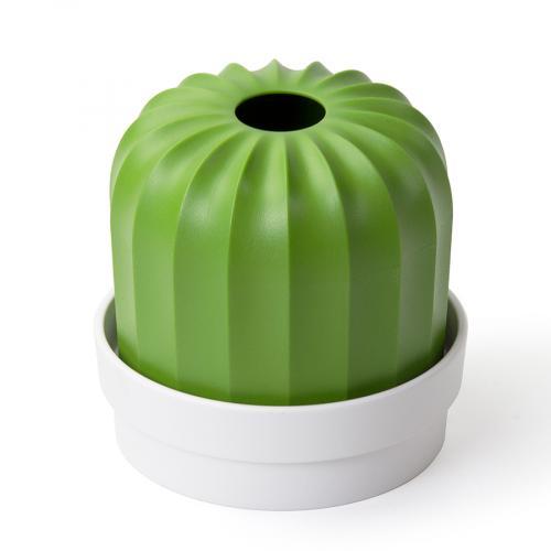 Держатель для салфеток Cactiss, белый с зеленым