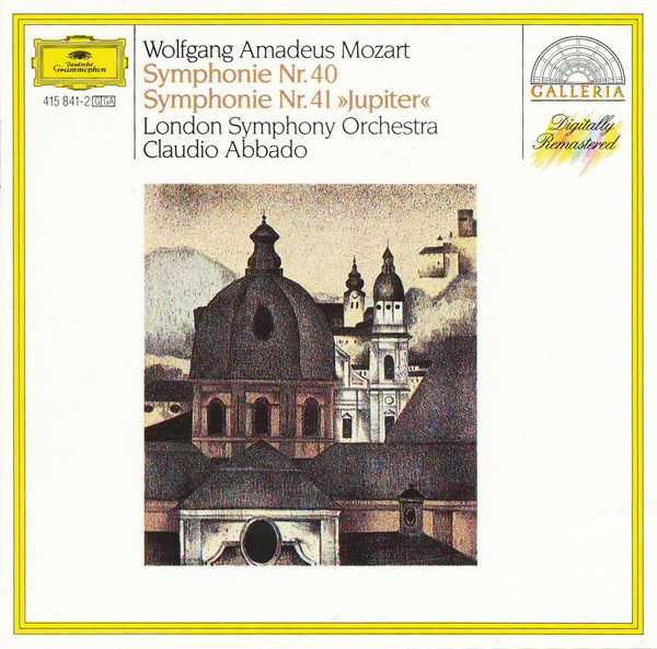 Аудио диск Abbado, Claudio Mozart: Symphonies Nos.40 #and# 41