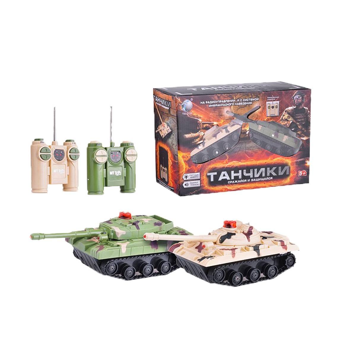 Радиоуправляемый танковый бой TONGDE 2102-2В