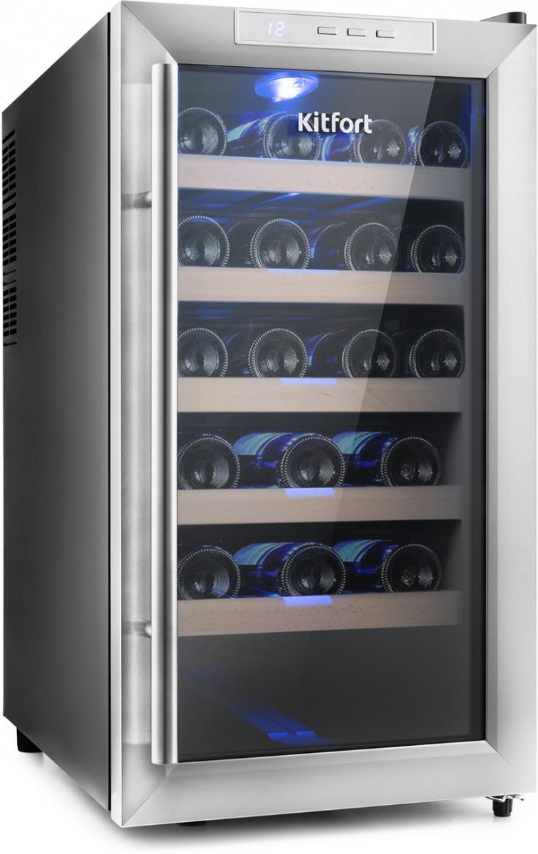 Винный шкаф Kitfort КТ-2409 КТ-2409 по цене 17 490