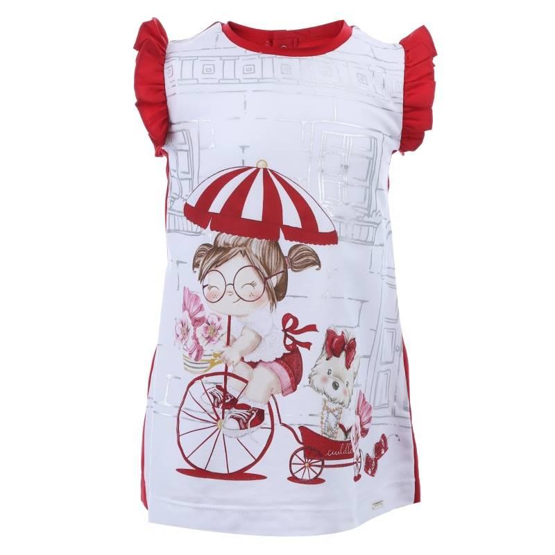 Купить Платье MAYORAL, цв. красный, 98 р-р, Детские платья и сарафаны