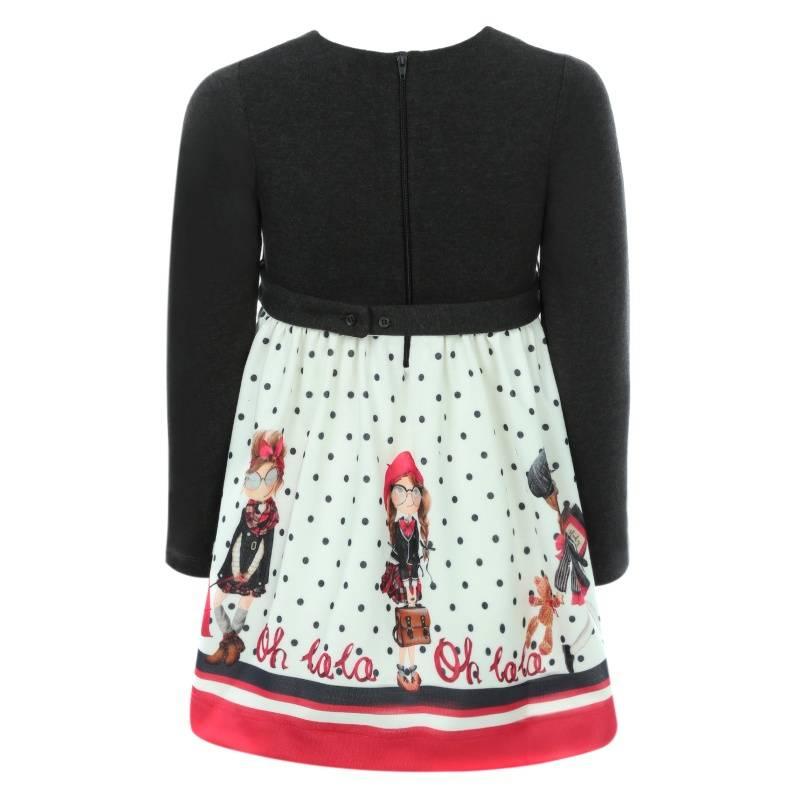 Купить Платье MAYORAL, цв. серый, 128 р-р, Детские платья и сарафаны