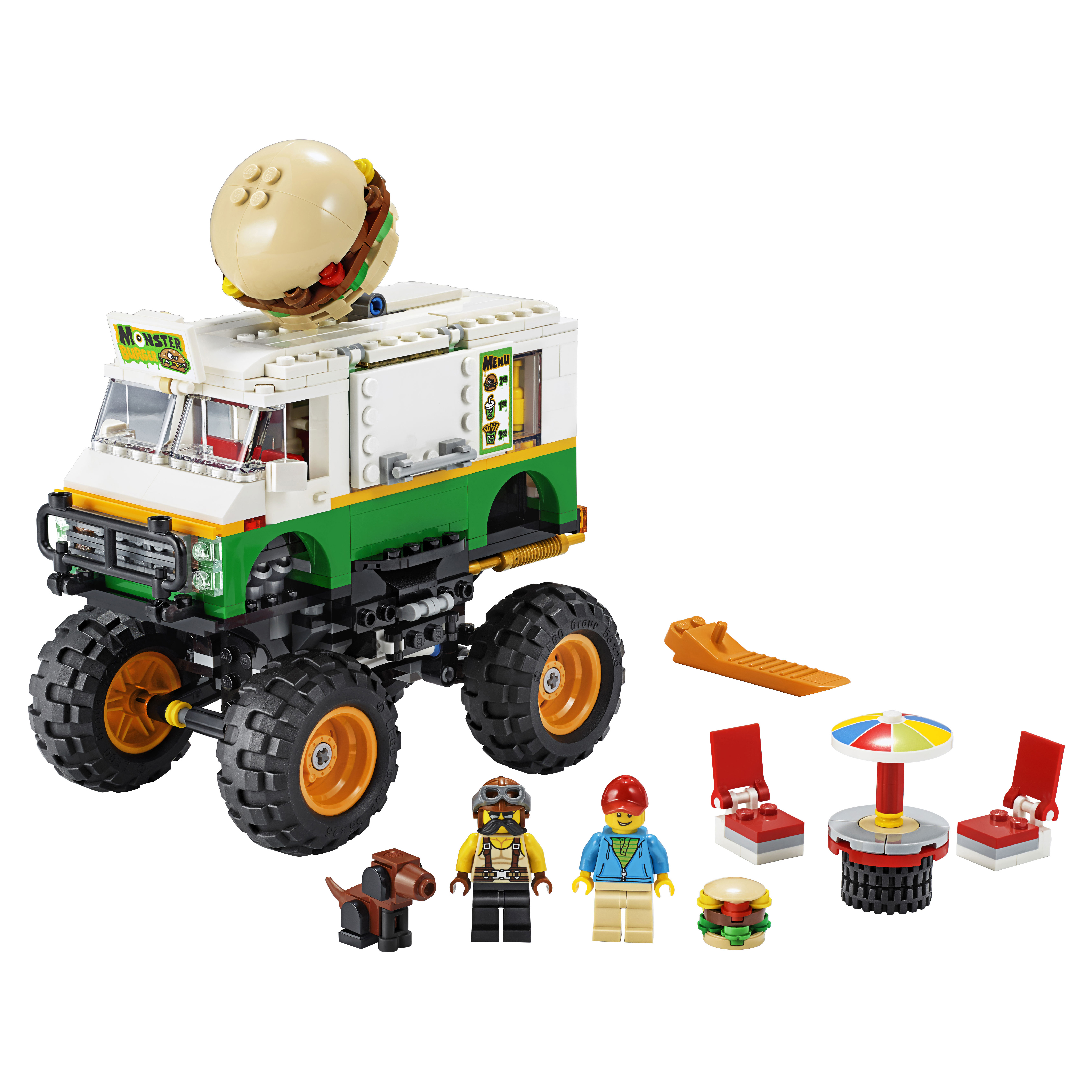 Конструктор LEGO Creator 31104 Грузовик «Монстрбургер»