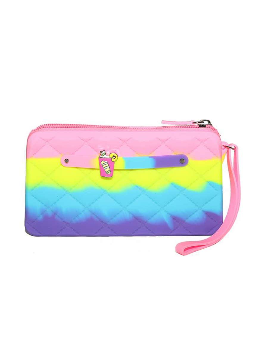 Купить Сумка детская Gummy Bags Клатч + Подвеска Коктейль, цв. Ice Cream,