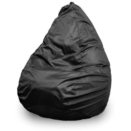 Кресло-мешок ПуффБери Груша Оксфорд, размер XXXL, оксфорд, черный