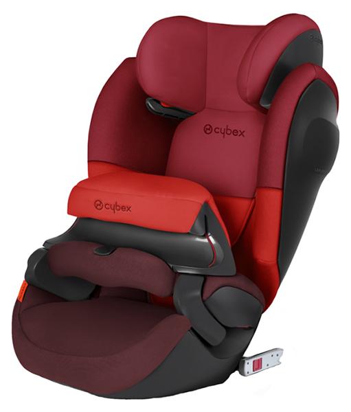 Купить Автокресло Cybex Pallas M-Fix SL Rumba Red группа 1/2/3, 9-36 кг, Детские автокресла